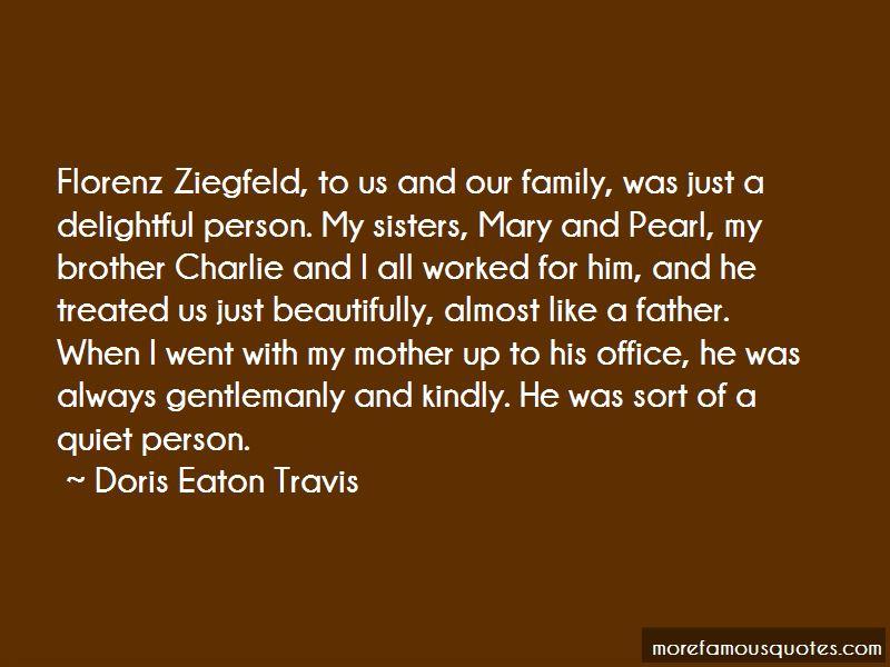 Doris Eaton Travis Quotes Pictures 3