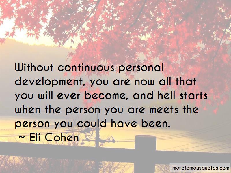 Eli Cohen Quotes