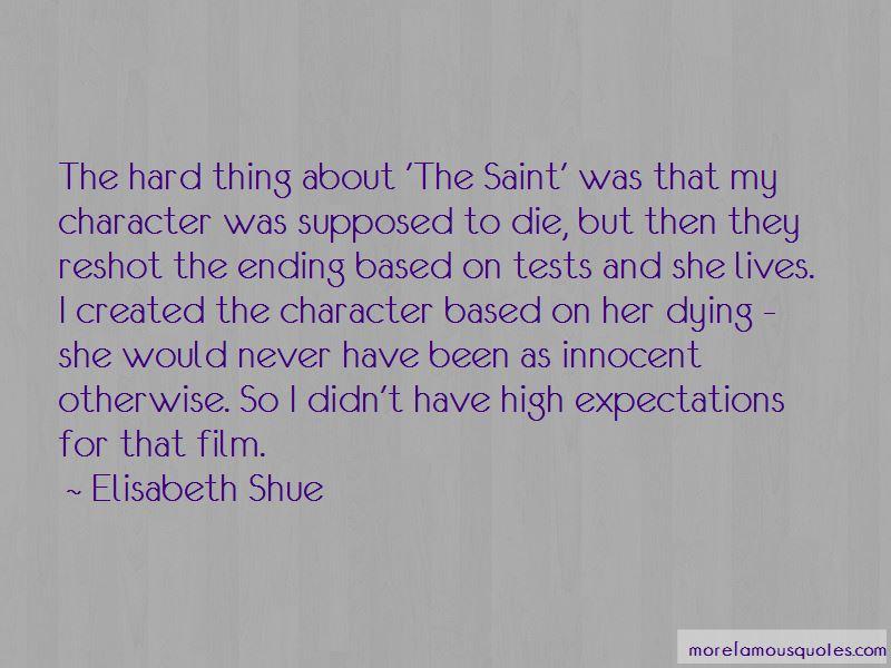Elisabeth Shue Quotes Pictures 2