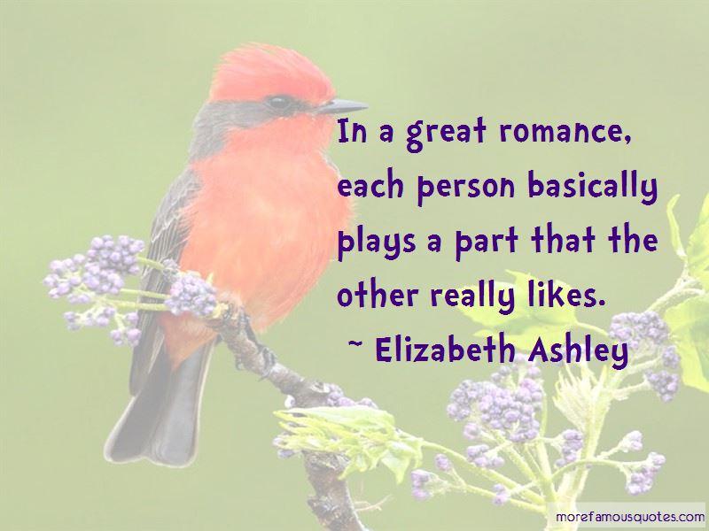 Elizabeth Ashley Quotes