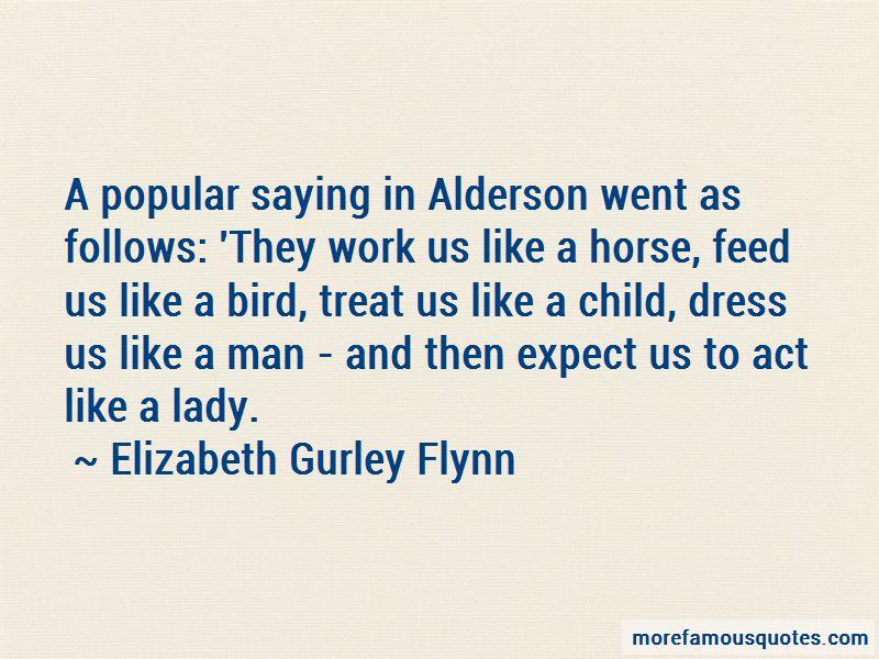 Elizabeth Gurley Flynn Quotes
