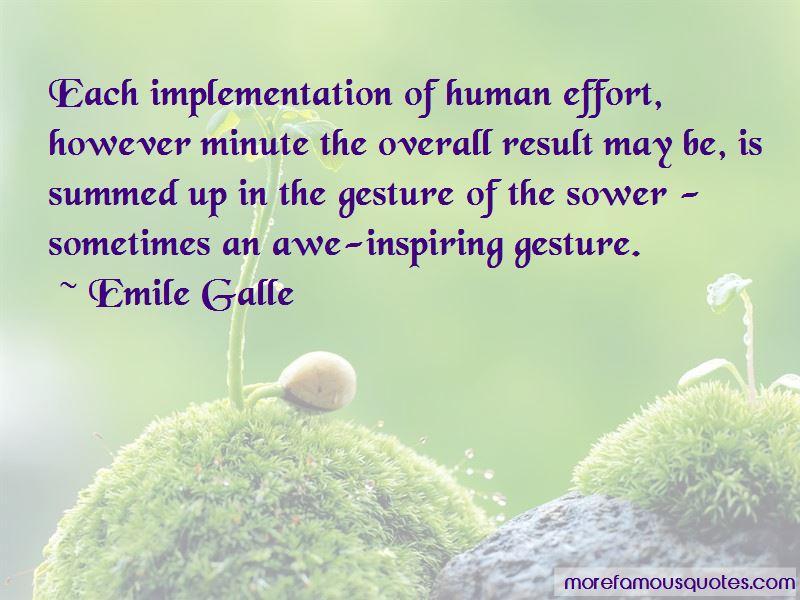 Emile Galle Quotes