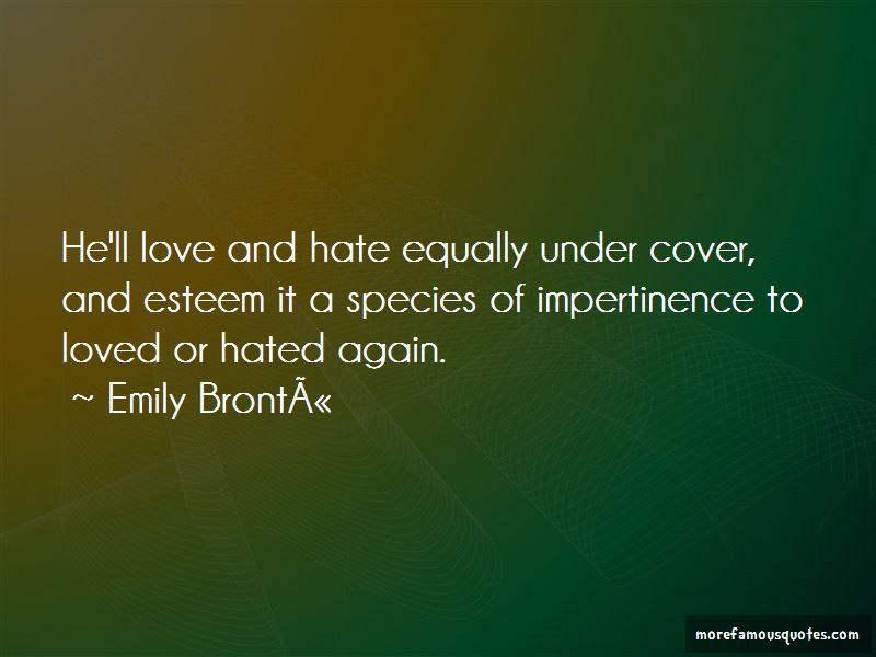 Emily-Bronte Quotes