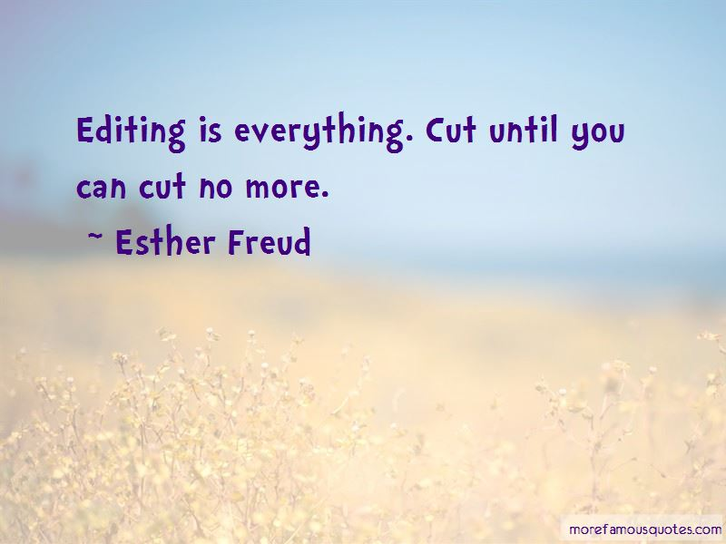 Esther Freud Quotes Pictures 4