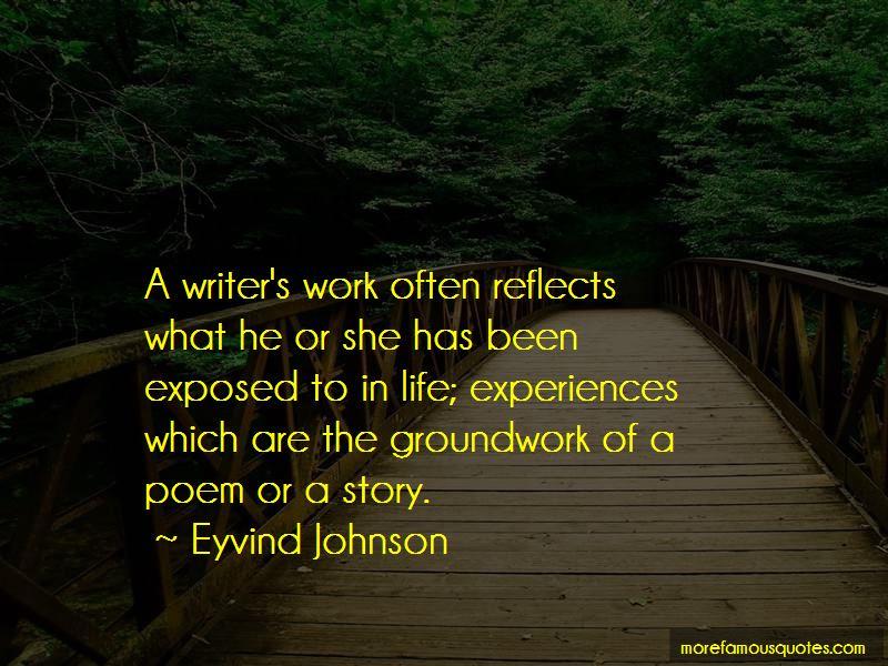 Eyvind Johnson Quotes