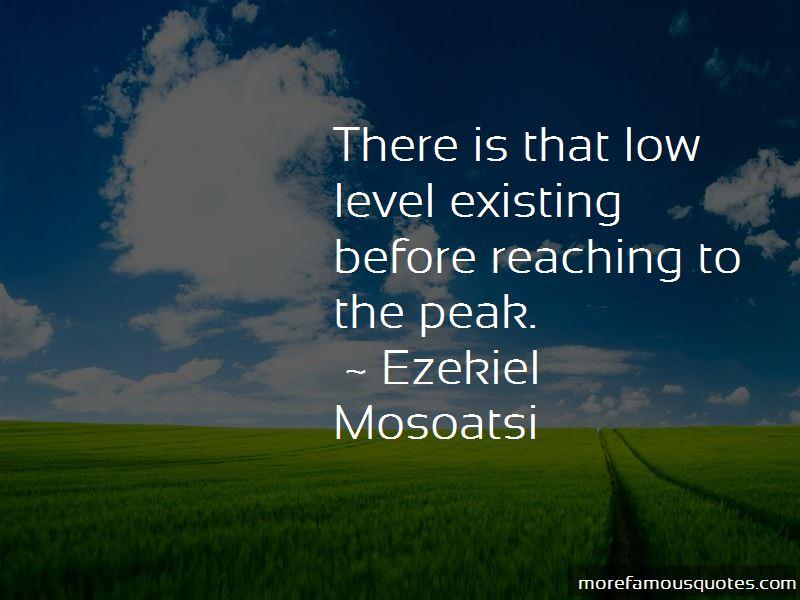 Ezekiel Mosoatsi Quotes Pictures 2