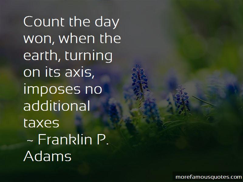 Franklin P. Adams Quotes Pictures 4