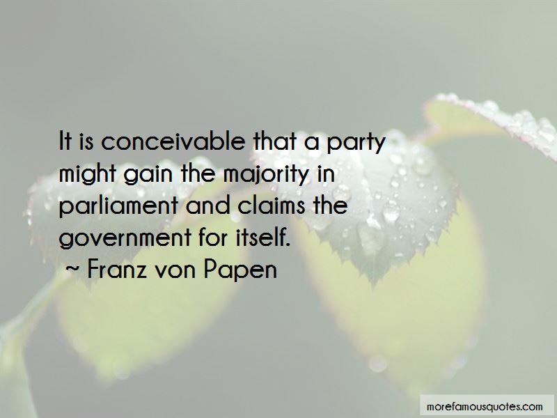 Franz Von Papen Quotes Pictures 3