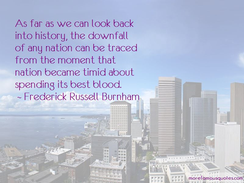 Frederick Russell Burnham Quotes Pictures 2
