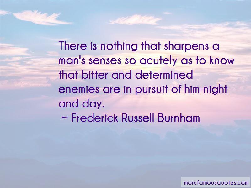 Frederick Russell Burnham Quotes