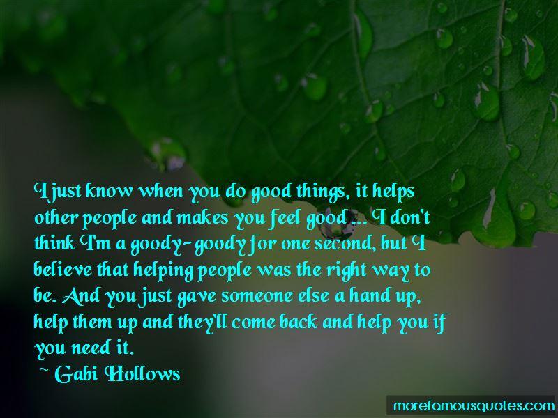 Gabi Hollows Quotes Pictures 2