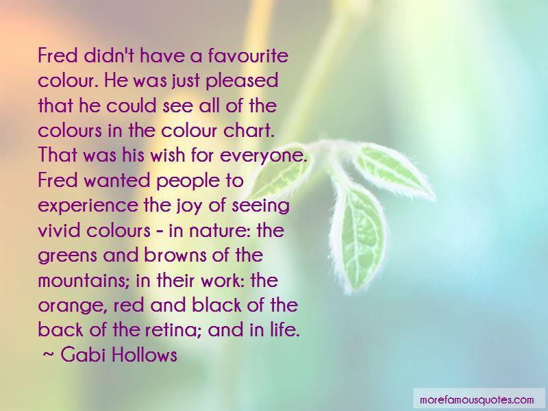Gabi Hollows Quotes Pictures 3
