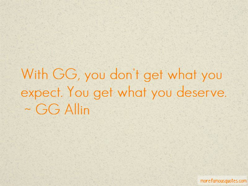 GG Allin Quotes Pictures 2