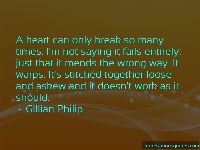 Gillian Philip Quotes Pictures 2