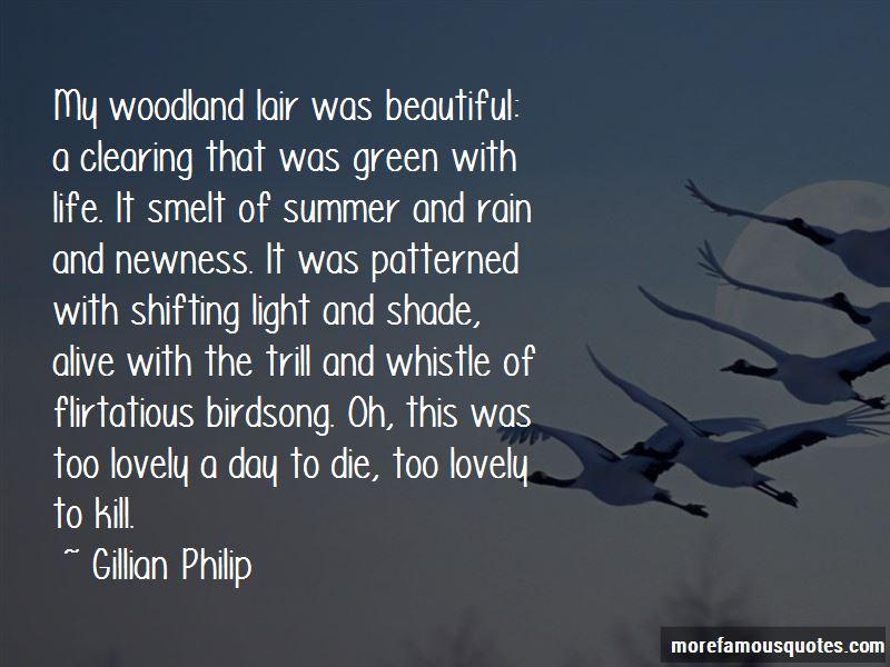 Gillian Philip Quotes