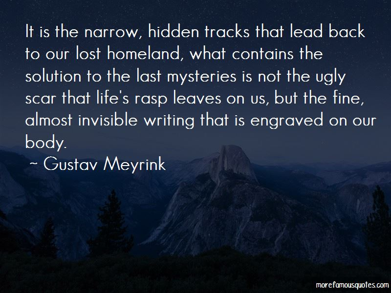 Gustav Meyrink Quotes Pictures 3