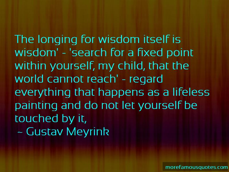 Gustav Meyrink Quotes Pictures 4