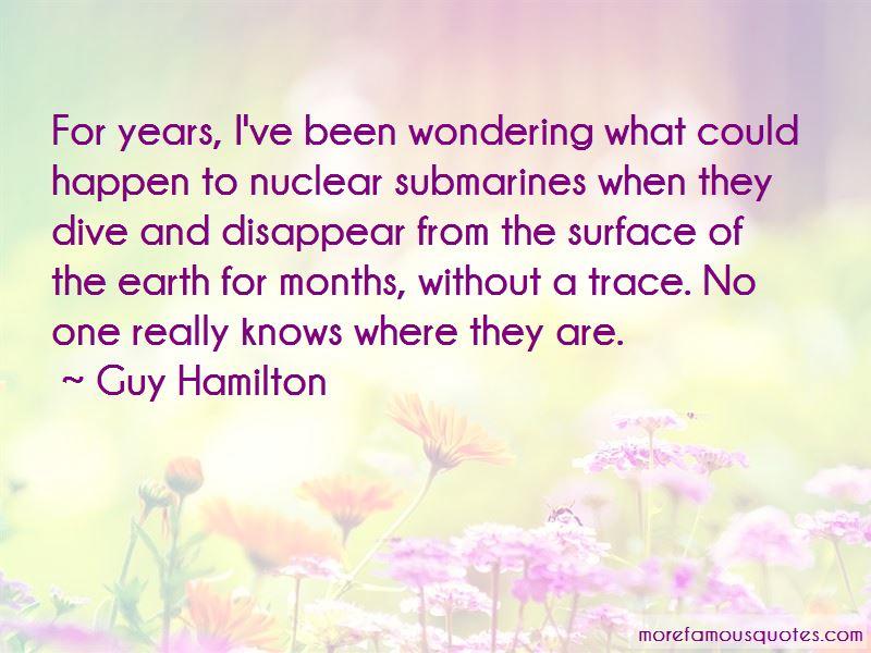 Guy Hamilton Quotes