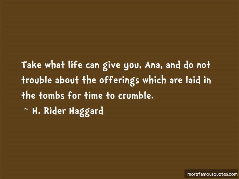 H. Rider Haggard Quotes