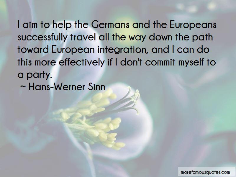 Hans-Werner Sinn Quotes Pictures 3