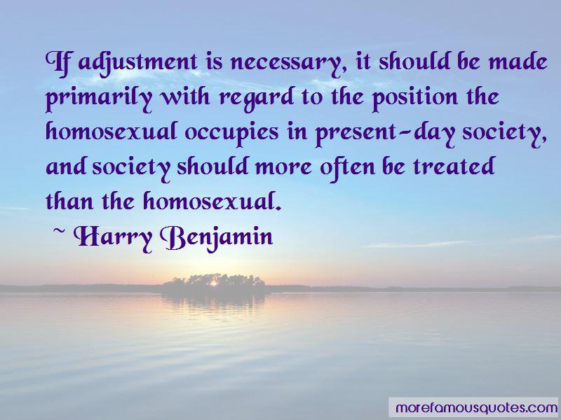 Harry Benjamin Quotes