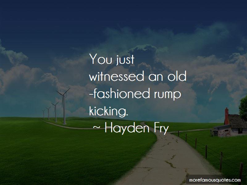 Hayden Fry Quotes Pictures 2
