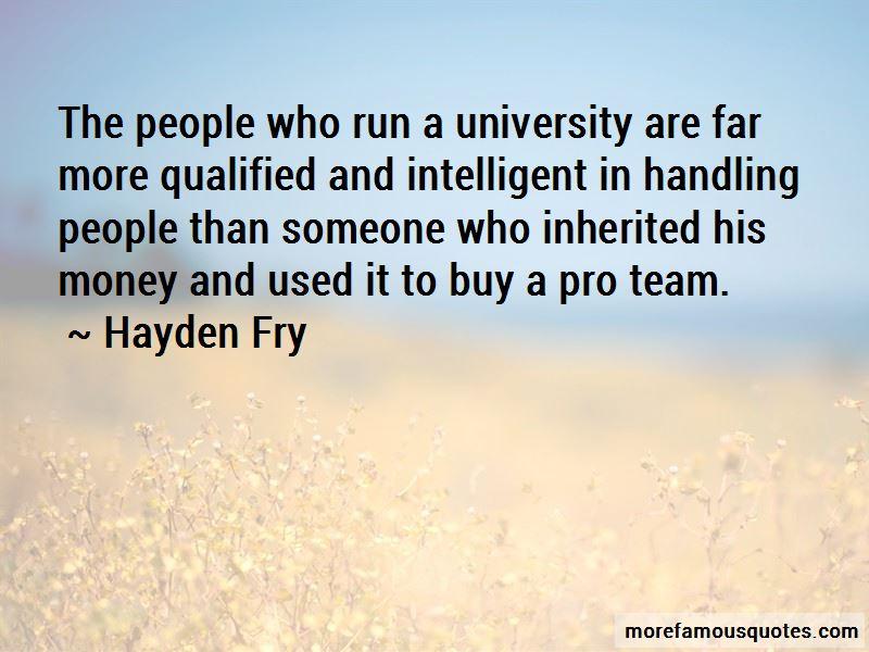 Hayden Fry Quotes Pictures 4