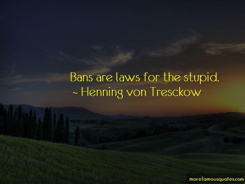 Henning Von Tresckow Quotes Pictures 3