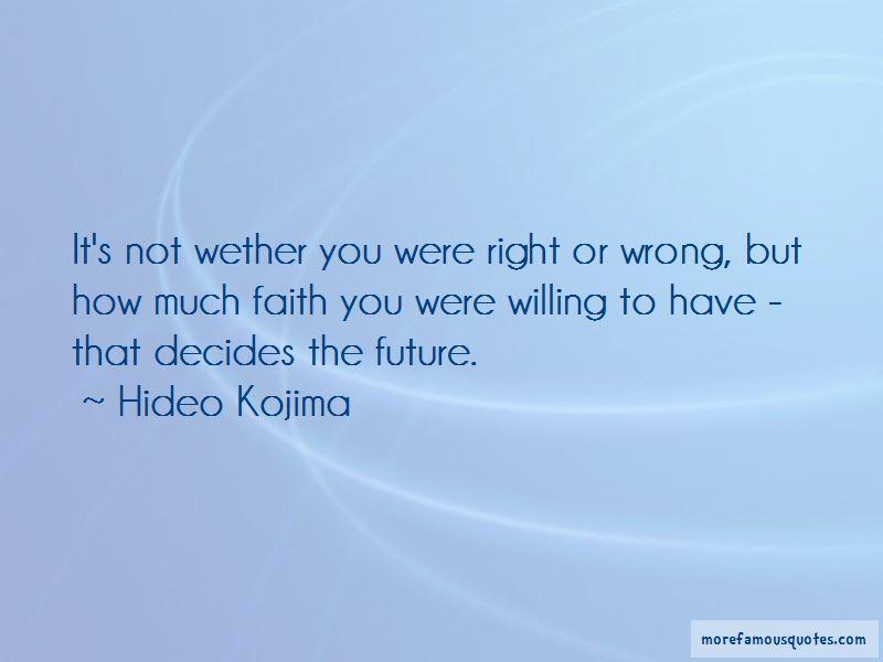 Hideo Kojima Quotes