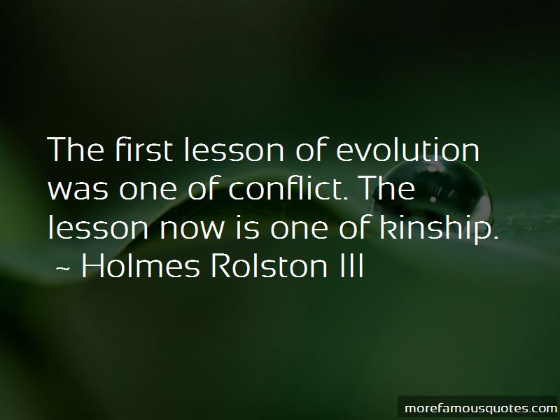 Holmes Rolston III Quotes Pictures 3