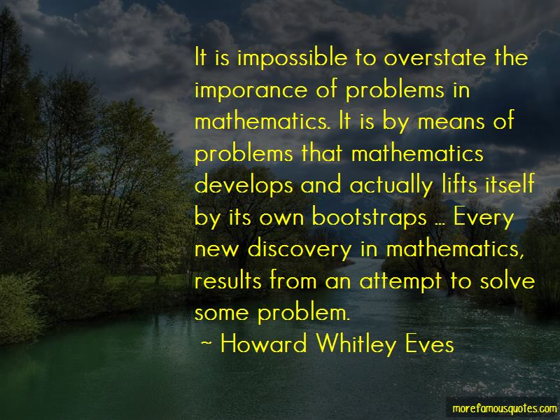 Howard Whitley Eves Quotes Pictures 2
