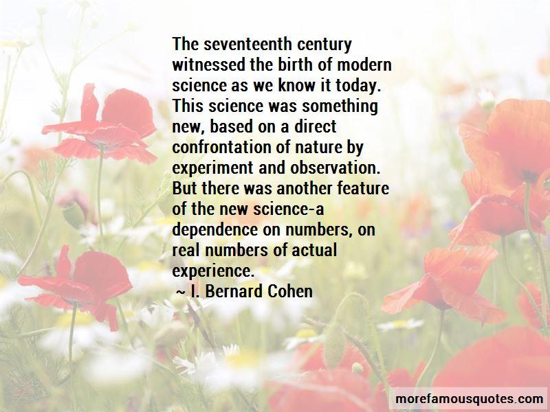 I. Bernard Cohen Quotes