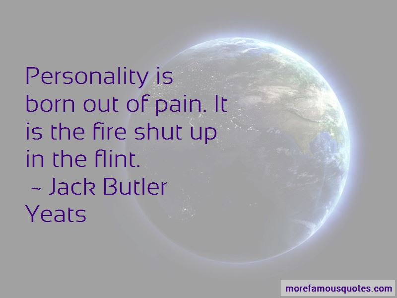 Jack Butler Yeats Quotes