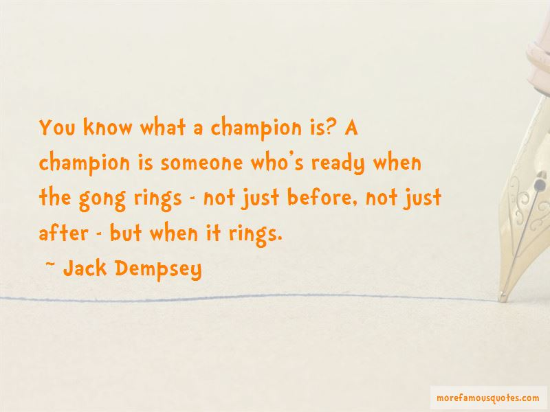 Jack Dempsey Quotes Pictures 2