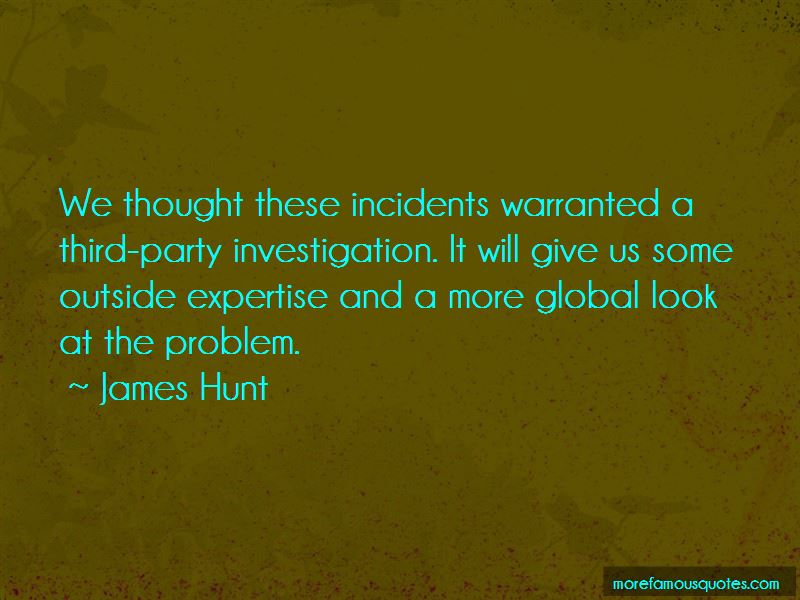 James Hunt Quotes