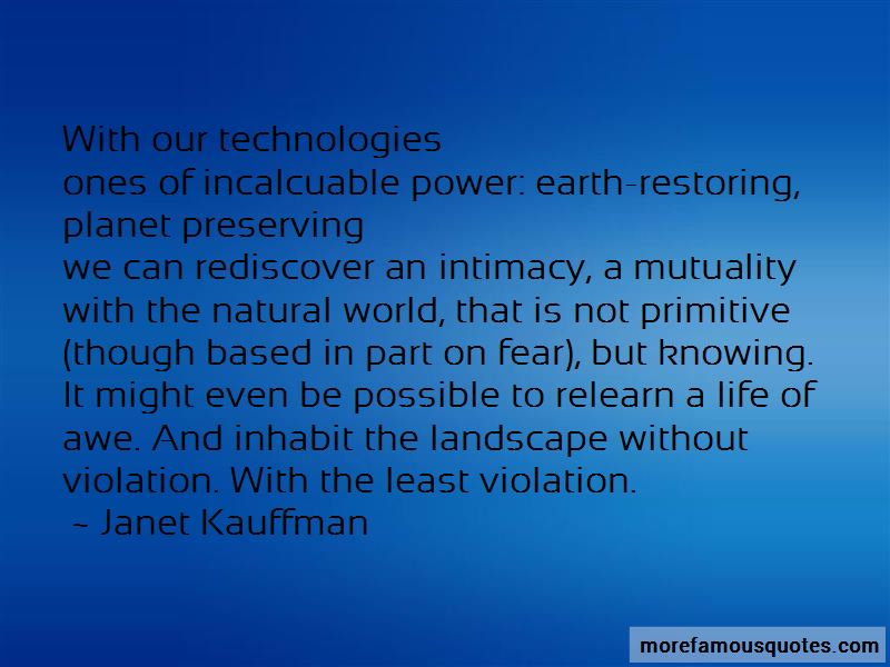 Janet Kauffman Quotes