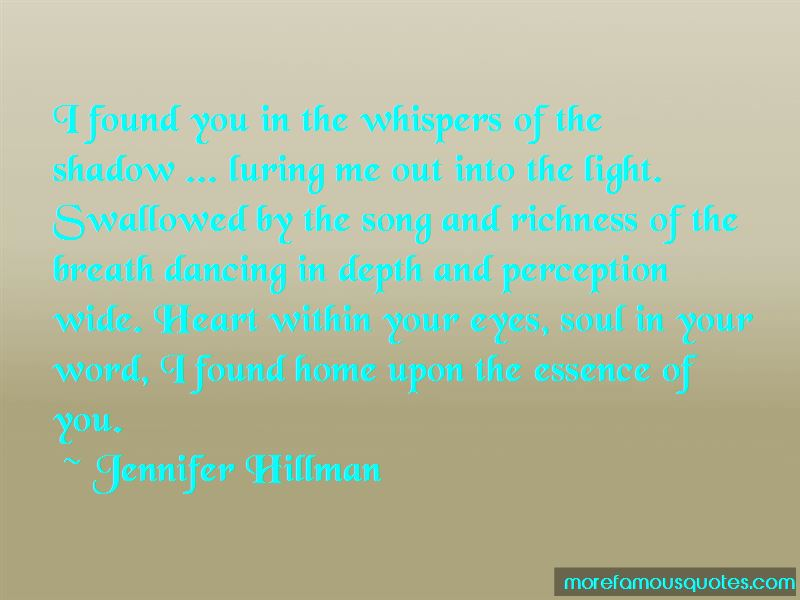 Jennifer Hillman Quotes