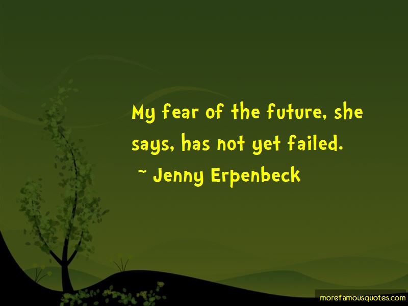 Jenny Erpenbeck Quotes Pictures 2