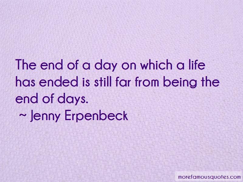 Jenny Erpenbeck Quotes