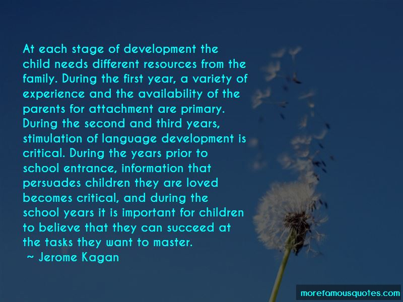 Jerome Kagan Quotes Pictures 2