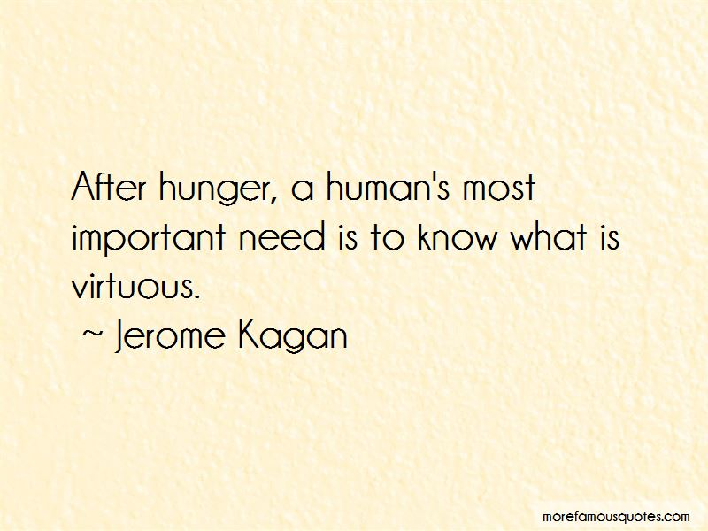 Jerome Kagan Quotes Pictures 3