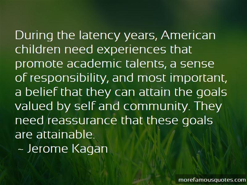 Jerome Kagan Quotes