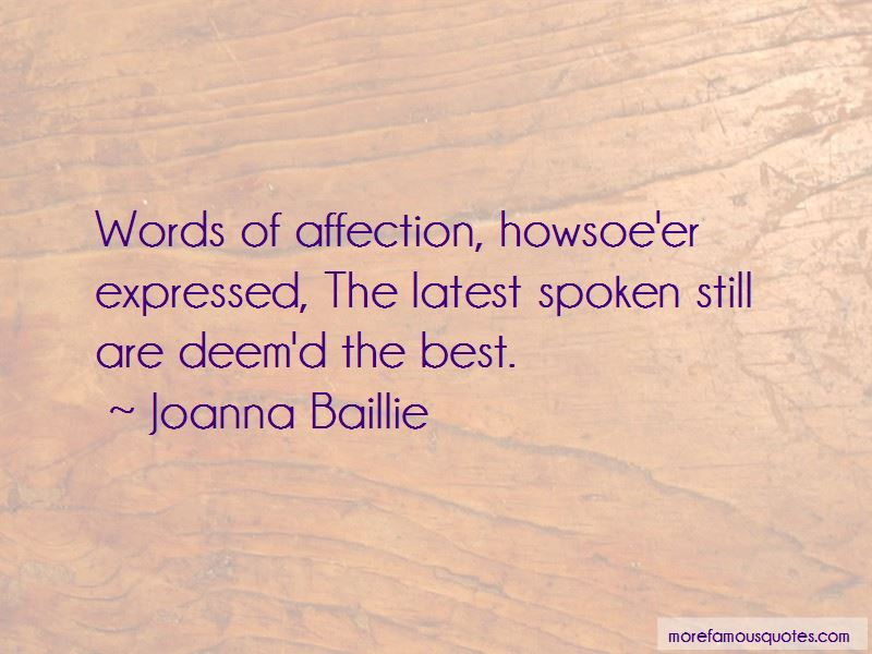 Joanna Baillie Quotes Pictures 2