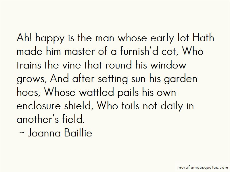 Joanna Baillie Quotes Pictures 3