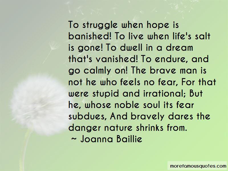 Joanna Baillie Quotes