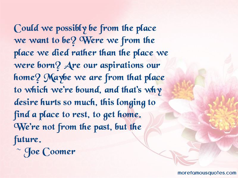 Joe Coomer Quotes Pictures 4