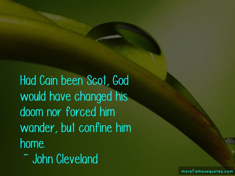 John Cleveland Quotes