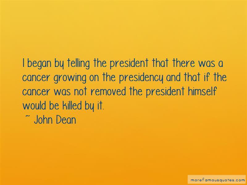 John Dean Quotes