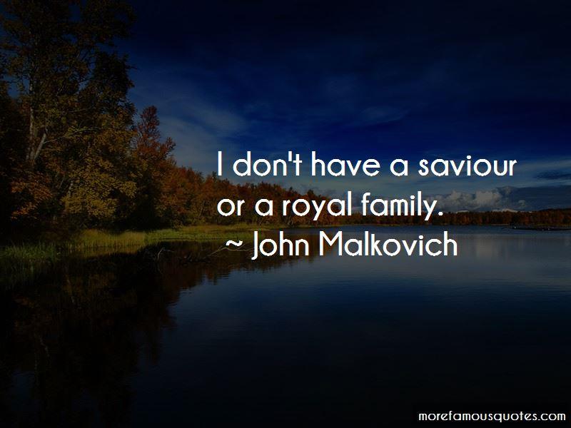 John Malkovich Quotes