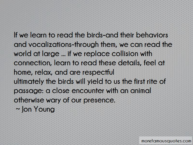 Jon Young Quotes